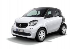 Smart fortwo pure, 2017, front