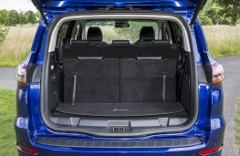 Ford S-Max, boot, seven seat mode