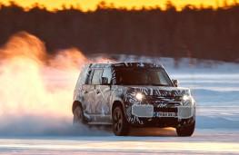 Snow joke - new Land Rover Defender testing