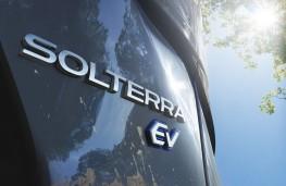 Subaru Solterra, 2021, badge