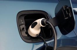 Kia Sorento plug-in hybrid, 2021, charging point