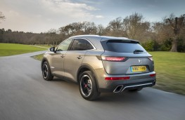 DS 7 Crossback, rear, action