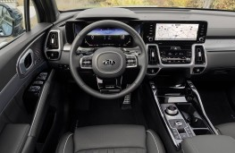 Kia Sorento plug-in hybrid, 2021, interior