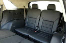 Kia Sorento, 2018, rear seats