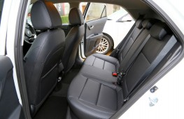 Kia Sorento, 2016, rear seats