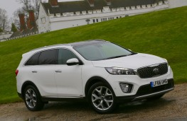 Kia Sorento, 2016, side, static