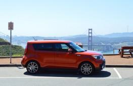 Kia Soul, California, Golden Gate bridge