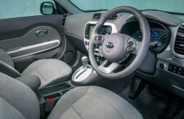 Kia Soul EV, interior