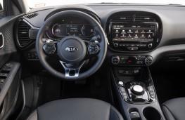 Kia Soul EV, 2019, interior