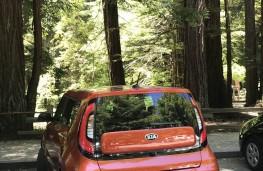 Kia Soul, California, rear, parked