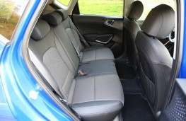 Kia Soul EV, 2019, rear seats
