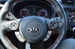Kia Soul, California, steering wheel
