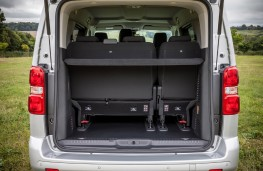 Citroen SpaceTourer, boot, minimum