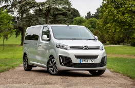 Citroen SpaceTourer, 2017, front, static
