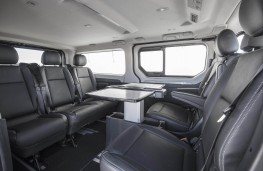 Renault Trafic SpaceClass, 2017, interior