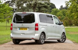 Citroen SpaceTourer, 2017, rear, static