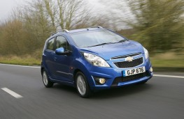 Chevrolet Spark, front, action