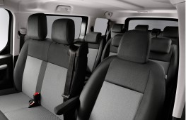 Citroen SpaceTourer, 2016, nine seat cabin