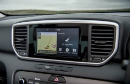 Kia Sportage, 2018, display screen