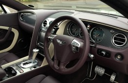 Bentley Continental GT Speed, dashboard