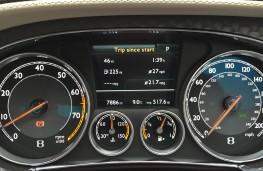 Bentley Continental GT Speed, instruments