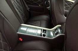 Bentley Continental GT Speed, rear seats