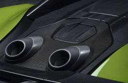 McLaren 600LT Spider, 2019, exhausts