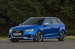 Audi RS 3 Sportback, 2017, front