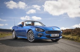 Fiat 124 Spider, 2017, front, static
