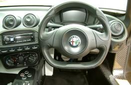 Alfa Romeo 4C Spider, dashboard