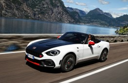 Abarth 124 Spider, 2016, side action