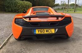 McLaren 650S Spider, tail