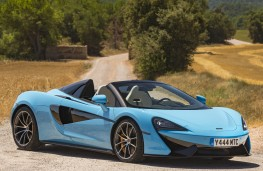 McLaren 570S Spider, 2017, side, static