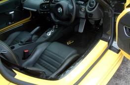 Alfa Romeo 4C Spider, interior