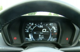 Alfa Romeo 4C Spider, instrument panel