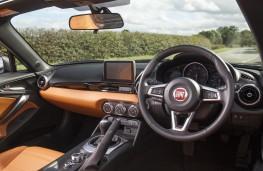 Fiat 124 Spider, 2017, interior