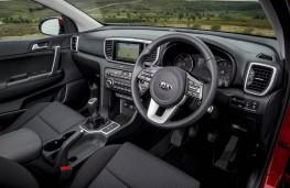 Kia Sportage, 2018, interior