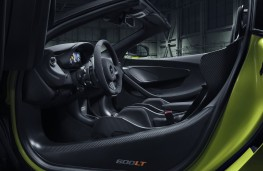 McLaren 600LT Spider, 2019, interior