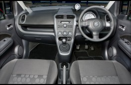 Suzuki Splash, interior