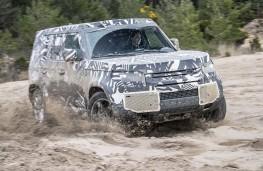 Splashing out  - new Land Rover Defender LWB