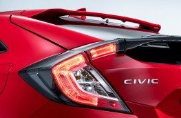 Honda Civic, 2017, spoiler