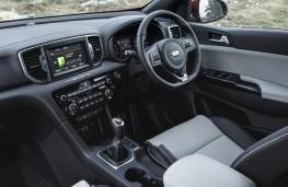 Kia Sportage GT-Line, 2016, interior