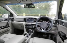 Kia Sportage KX5 2.0 CRDi Auto, 2017, interior