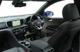 Kia Sportage GT-Line S, 2018, interior