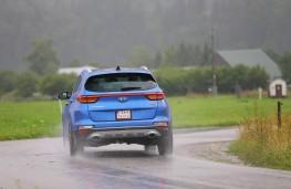 Kia Sportage GT-Line S, 2018, rear, action