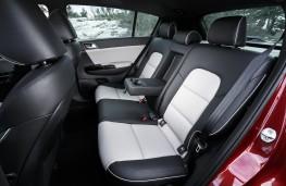 Kia Sportage GT-Line, 2016, rear seats