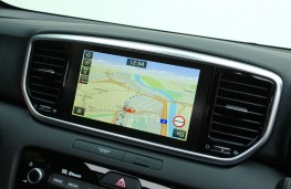 Kia Sportage GT-Line S, 2018, display screen