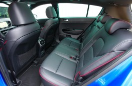 Kia Sportage GT-Line S, 2018, rear seats
