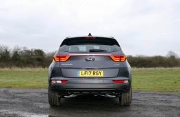 Kia Sportage KX5 2.0 CRDi Auto, 2017, tail