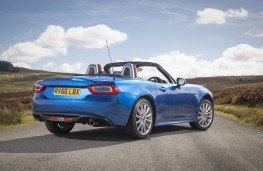 Fiat 124 Spider, 2017, rear, static